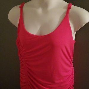 NWT Torrid Hot Pink Bodycon Midi Dress